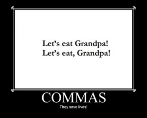 commas-save-lives