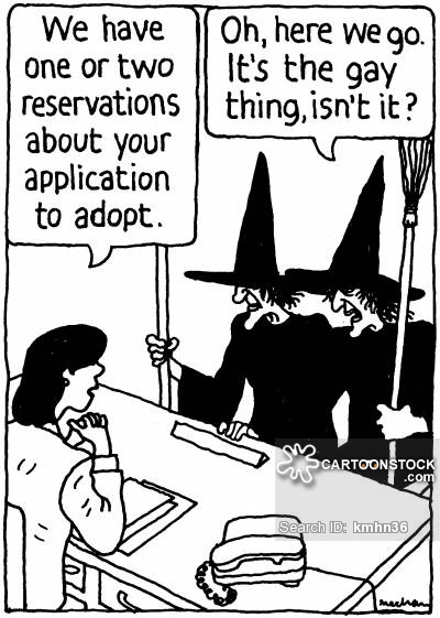 'We have one or two reservations about your application to adopt.'